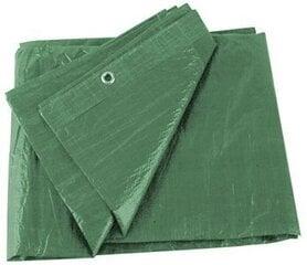 Tents - pārsegs 5x8 m 80g/m2, zaļš cena un informācija | Dārza instrumenti | 220.lv