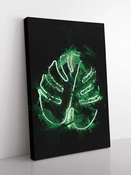 Foto glezna Zaļā gaisma, 60x90cm internetā