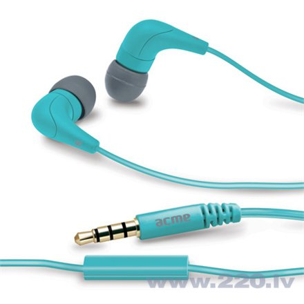 ACME HE15B Groovy in-ear с микрофоном голубые цена и информация | Austiņas | 220.lv