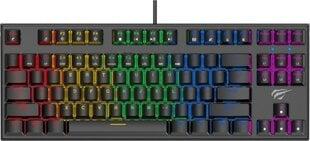 Tastatūra Havit KB857L, krāsaina cena un informācija | Klaviatūras | 220.lv