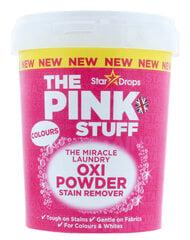 Veļās traipu tīrīšanas pulveris StarDrops The Pink Stuff, 1 kg cena un informācija | Veļās traipu tīrīšanas pulveris StarDrops The Pink Stuff, 1 kg | 220.lv