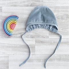 Aubīte velūra Mjölk, Baby Blue cena un informācija | Zīdaiņu cepures, šalles | 220.lv