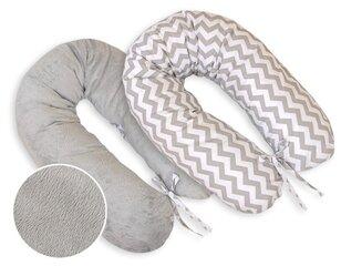 Двусторонняя подушка для кормления/беременности Bobono, 170 см цена и информация | Двусторонняя подушка для кормления/беременности Bobono, 170 см | 220.lv