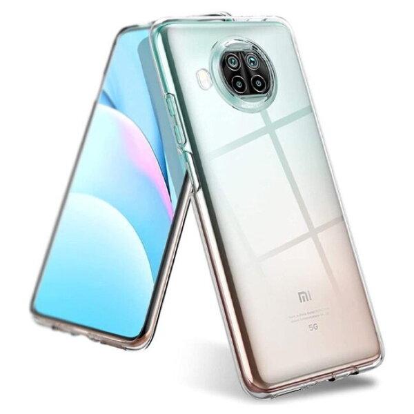 TakeMe Ultra Slim 0.5mm Back Case Xiaomi Mi 10T Lite 5G super plāns telefona apvalks Caurspīdīgs cena