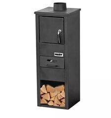 Стальная дровяная печь HECHT SPARKLIS цена и информация | Стальная дровяная печь HECHT SPARKLIS | 220.lv
