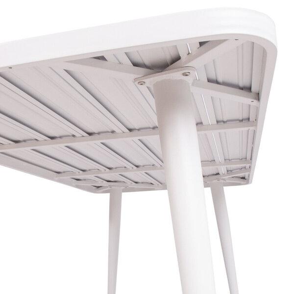 Dārza galds Wales 160x80xH75,5cm, balts lētāk