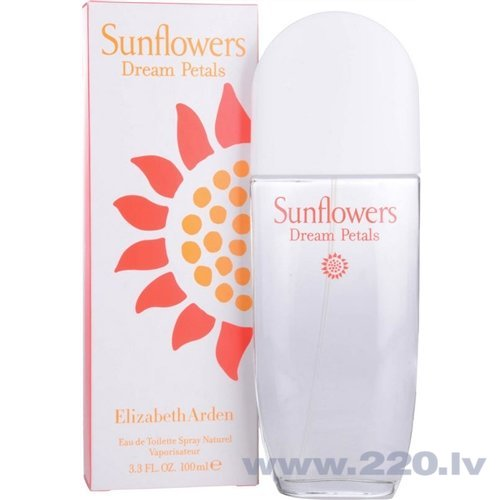 Tualetes ūdens Elizabeth Arden Sunflowers Dream Petals edt 100 ml cena