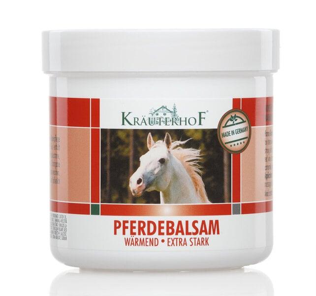 Kräuterhof Zirgu balzams Sildošs efekts 250 ml cena un informācija | Balzāmi, ziedes | 220.lv
