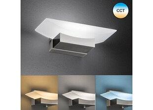 Sienas lampa Bowl, niķeļa toņa, 6 W/560 lm cena un informācija | Sienas lampas | 220.lv
