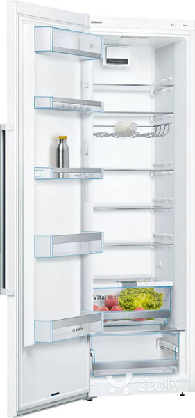 Bosch KSV36BWEP, ledusskapis, 186 cm internetā