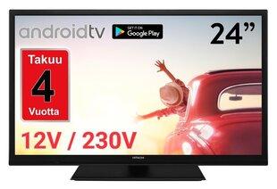 HITACHI 24 HD ready Android™ Smart LED LCD TV 24HAE2355 : 12V cena un informācija   Televizori   220.lv