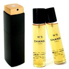 Tualetes ūdens Chanel N°5 edt 3 x 20 ml