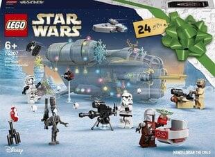 75307 LEGO® Star Wars Adventes kalendārs cena un informācija | Konstruktori | 220.lv