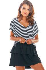 Sieviešu svārki, melnā krāsā 907126742 cena un informācija | Svārki | 220.lv