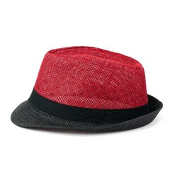 Art of Polo cepure, sarkana-melna cena un informācija | Rokdarbu materiāli | 220.lv