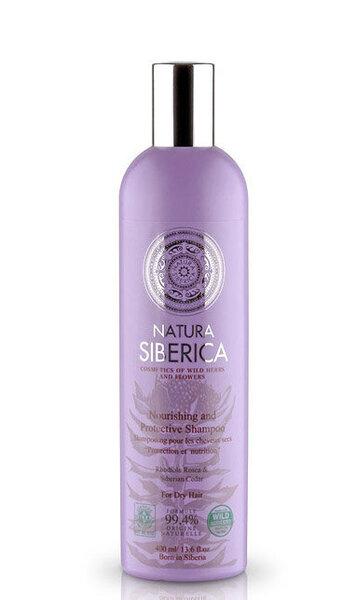 Natura Siberica šampūns sausiem matiem, 400 ml cena un informācija | Šampūni | 220.lv