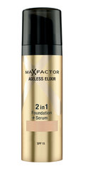 Тональный крем Max Factor Ageless Elixir 2in1, 30 мл цена и информация | Пудры, бронзаторы, румяна | 220.lv