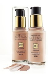 Bāze Max Factor Face Finity All Day Flawless 3in1, 30 ml cena un informācija | Pūderi, bronzatori, vaigu sārtumi | 220.lv
