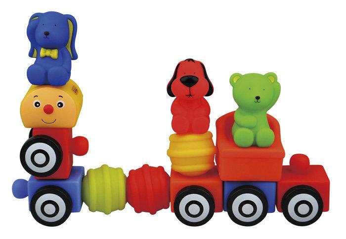 Bērnu rotaļlieta vilciens K s Kids, 13 daļas cena un informācija | Rotaļlietas zīdaiņiem | 220.lv