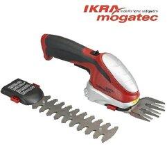 Беспроводные ножницы для травы и живой изгороди 7,2 IKRA Mogatec GBS 9054 Li