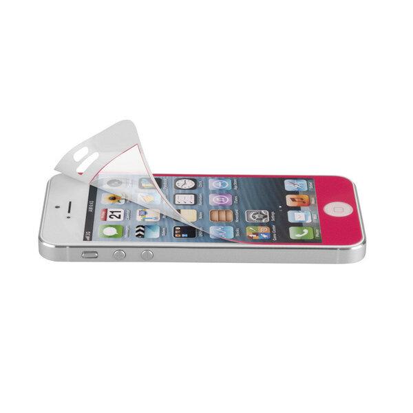 Mercury Anti Fingerprint защитные плёнки (2 шт.) для защиты экрана и поверхности телефона Apple iPhone 5/5S, Розовые цена и информация | Ekrāna aizsargplēves | 220.lv