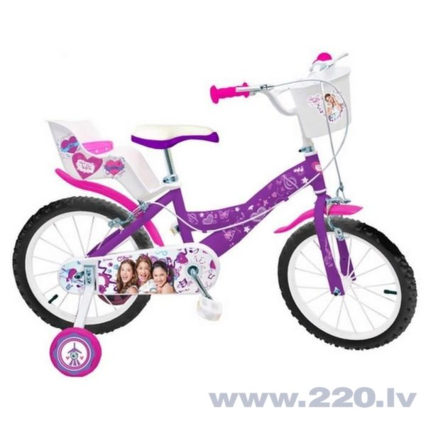 "Bērnu velosipēds Toimsa Violetta 16"" cena un informācija | Velosipēdi | 220.lv"
