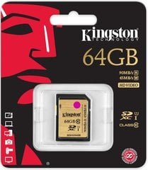 Kingston 64GB SDXC Class10 UHS-I