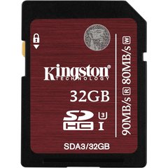 Kingston 32GB SDXC UHS-I U3