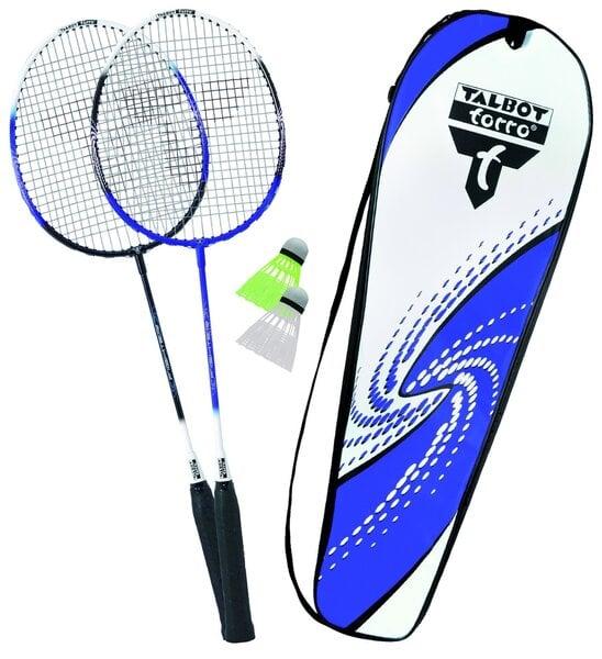 Badmintona komplekts Talbot Torro 2-Fighter cena un informācija | Badmintons | 220.lv
