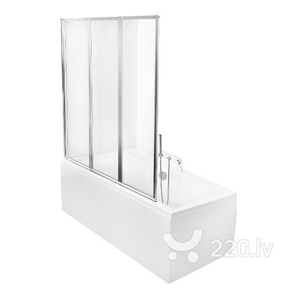 Mobili стеклянная стенка для ванной Ambition 3 Premium цена и информация | Vannas ekrāni un citi aksesuāri | 220.lv