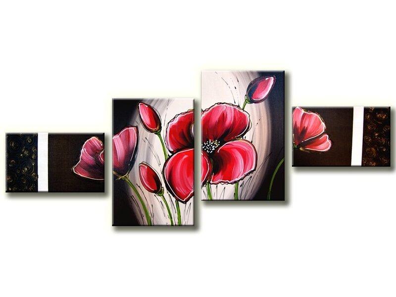 Moduļu glezna 4 daļas cena un informācija | Gleznas | 220.lv
