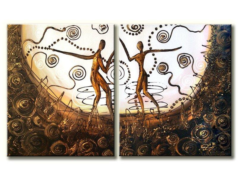 Moduļu glezna 2 daļas cena un informācija | Gleznas | 220.lv