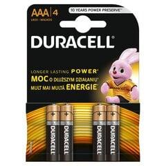 Duracell AAA LR03, 4 gab.   cena un informācija | Duracell AAA LR03, 4 gab.   | 220.lv