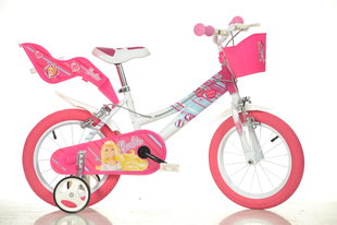 "Bērnu velosipēds Dino bikes Barbie 14"" (146R BA)"