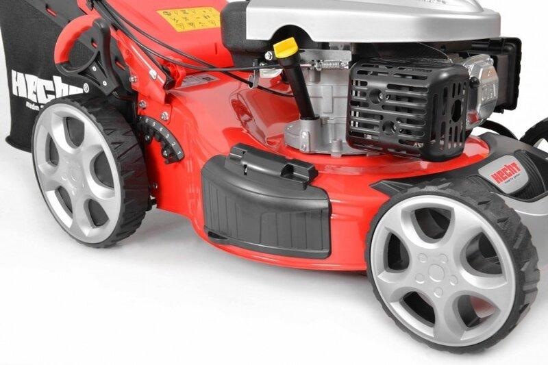 Бензиновая самоходная газонокосилка Hecht 5534 SX