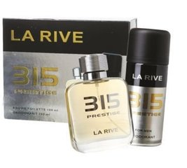 Komplekts La Rive 315 Prestige: edt 100 ml + dezodorants 150 ml