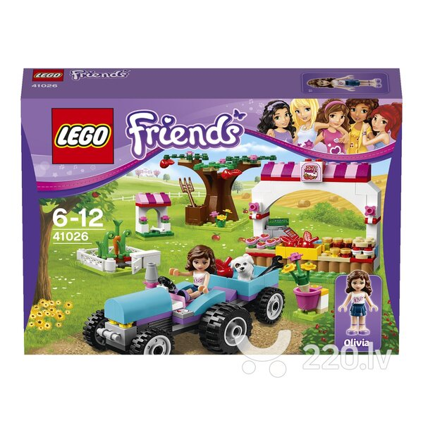 Конструктор Lego Friends Sunshine Harvest 41026 цена и информация | LEGO | 220.lv