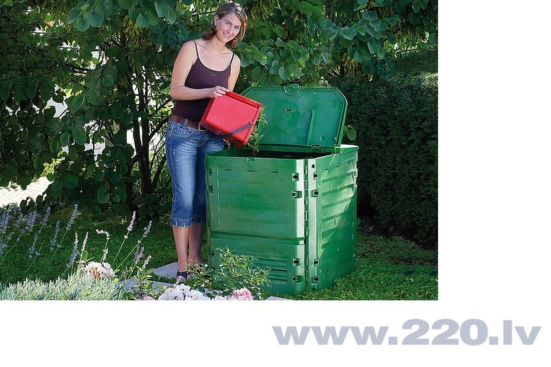 Komposta kaste Thermo King 600 cena un informācija | Komposta kaste | 220.lv