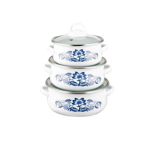 Emaljētu katlu komplekts Banquet 6 daļās cena un informācija | Katli, tvaika katli | 220.lv