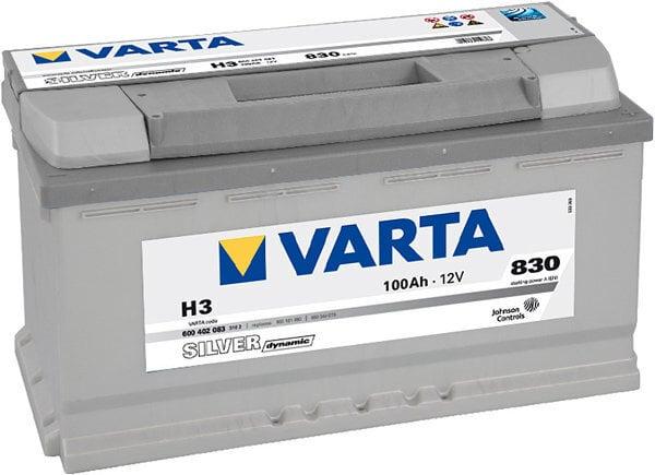 VARTA SILVER 100AH 830A H3