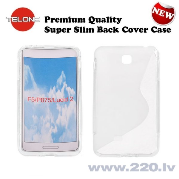 Telone Back Case S-Case силиконовый чехол LG P875 Optimus F5 Прозрачный  цена и информация | Maciņi, somiņas | 220.lv