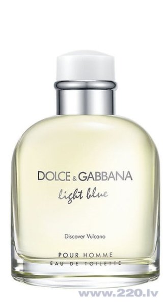 Туалетная вода Dolce & Gabbana Light Blue Discover Vulcano edt 125 мл цена и информация | Vīriešu smaržas | 220.lv