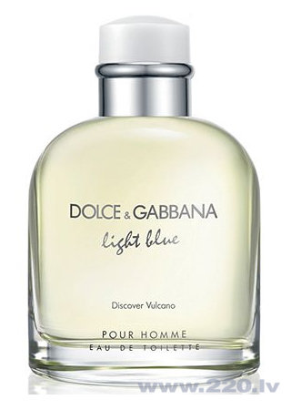 Туалетная вода Dolce & Gabbana Light Blue Discover Vulcano edt 75 мл цена и информация | Vīriešu smaržas | 220.lv
