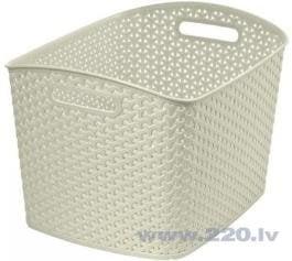 Veļas grozs Curver My Style, 28 L cena un informācija | Veļas grozi un mantu uzglabāšanas kastes | 220.lv