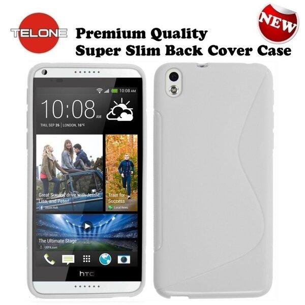 Telone Back Case S-Case силиконовый чехол HTC Desire 816 Белый цена и информация | Maciņi, somiņas | 220.lv