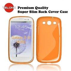 Telone Back Case S-CASE  резиновый чехол для мобильного телефона Samsung i9300 Galaxy S3, Оранжевый