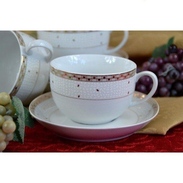 Porcelāna kafijas servīze, 12 daļas cena un informācija | Glāzes, krūzes, karafes | 220.lv