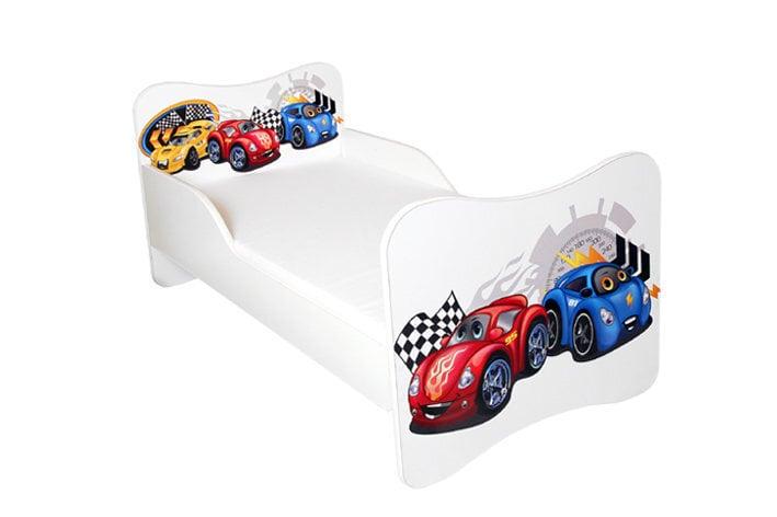 Gulta ar matraci AMI 2, 140x70 cm cena un informācija | Bērnu istabas mēbeles | 220.lv