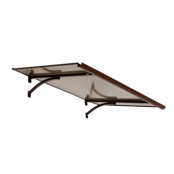 Aizsardzības jumtiņš 120 x 90 cm cena un informācija | Durvju jumtiņi | 220.lv