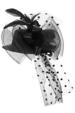 Retro cepure, melna cena un informācija | Karnevāla kostīmi, maskas un parūkas | 220.lv